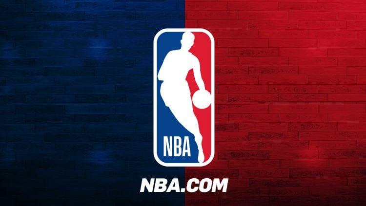 Logo NBA, kompetisi bergengsi basket asal Amerika Serikat. Copyright: © nba.com