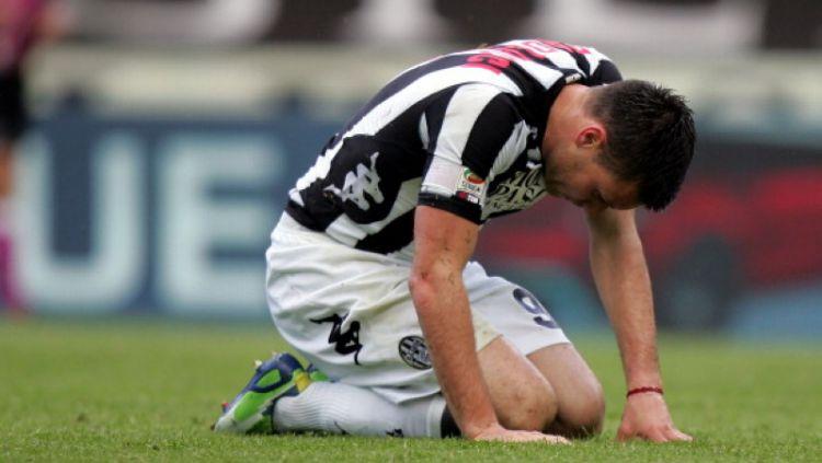 Michele Paolucci saat membela AC Siena. Copyright: © INDOSPORT