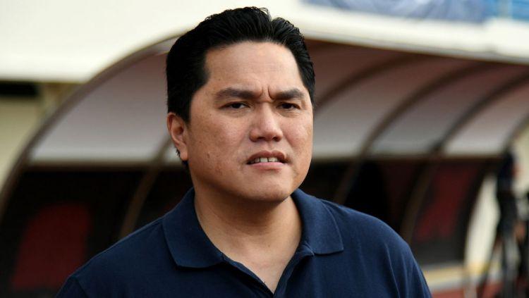 Erick Thohir mengaku memang tertarik untuk membeli saham Persis Solo. Copyright: © GettyImages