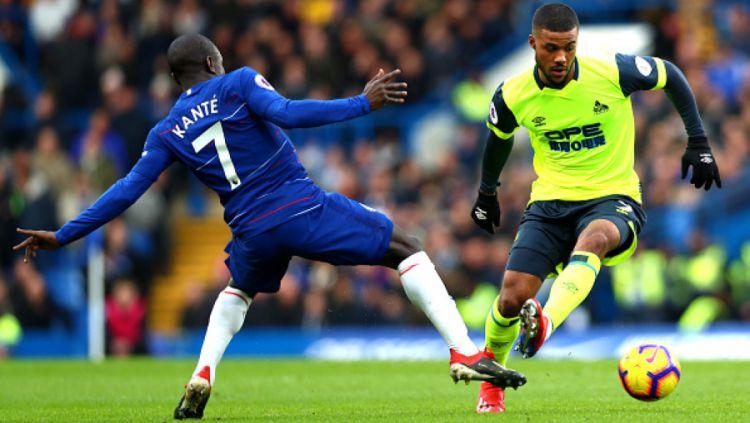 Chelsea vs Huddersfield Copyright: © INDOSPORT