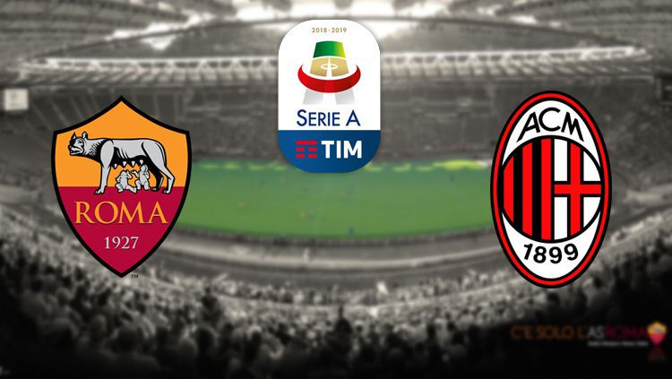 AS Roma vs AC Milan Copyright: © Forza24/INTERNET/INDOSPORT