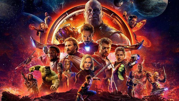Poster Avengers Copyright: © Istimewa