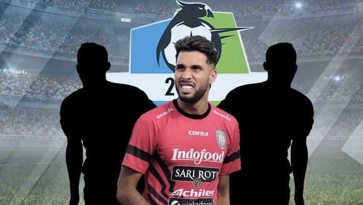 3 Pemain Liga 1 2019 Dengan Tinggi Mencapai 2 Meter. Copyright: © INDOSPORT