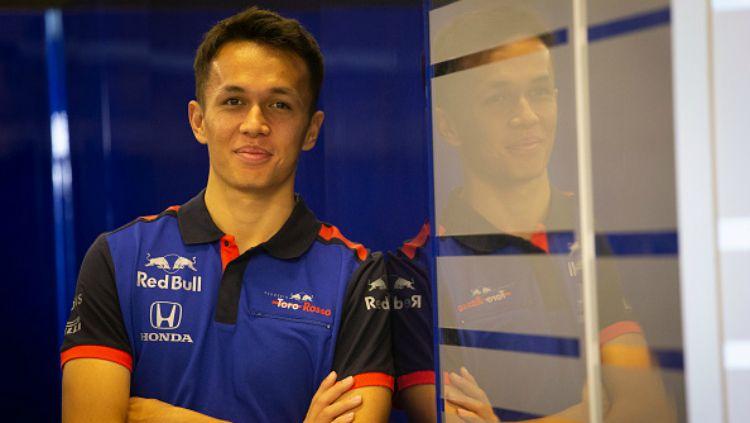 Pembalap F1 anyar Red Bull Racing, Alexander Albon, mengidolakan salah satu bintang MotoGP. Copyright: © GettyImages