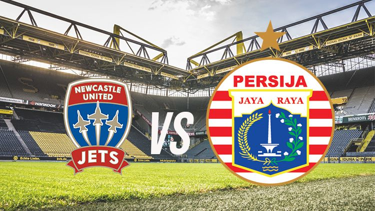 Ilustrasi logo Newcastle United Jets vs Persija Jakarta Copyright: © INDOSPORT