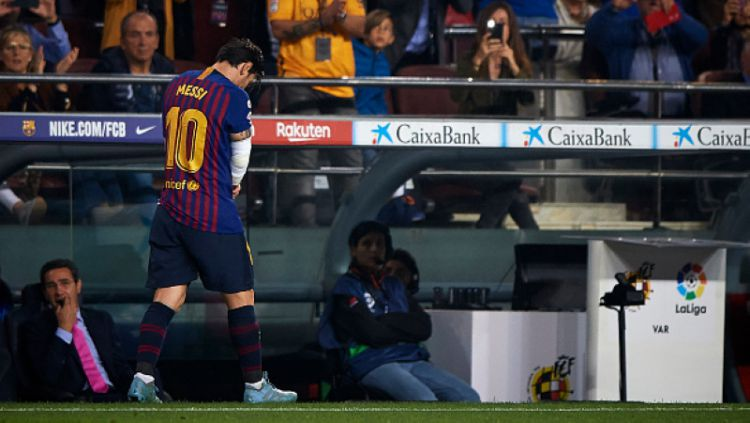Lionel Messi Copyright: © INDOSPORT