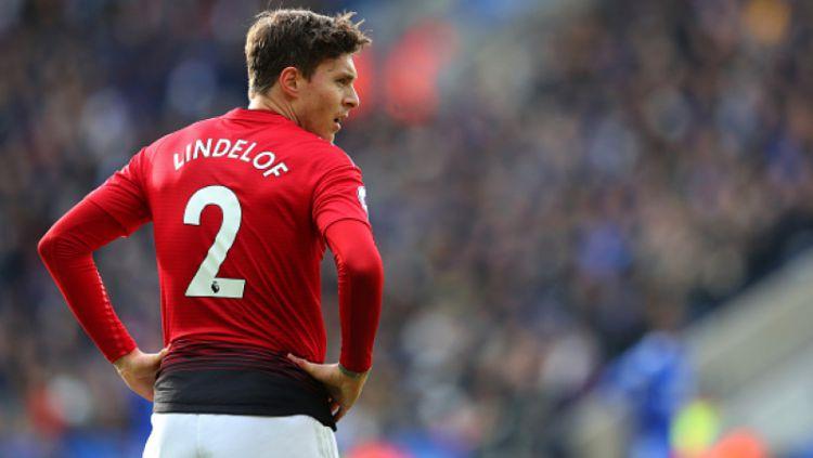 Victor Lindelof mengakui bahwa Manchester United mengalami masalah konsistensi permainan di kompetisi Liga Inggris 2019-2020. Copyright: © GettyImages