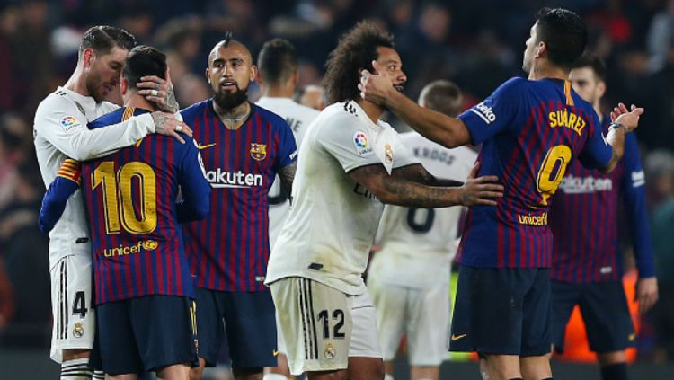 Barcelona vs Real Madrid Copyright: © GettyImages