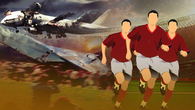 Kecelakaan Pesawat dan Hubungan Dekatnya dengan Dunia Sepak Bola Copyright: © INDOSPORT