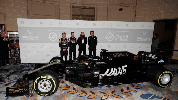 Haas menjadi tim pertama yang merilis mobil baru menjelang Formula 1 2019 Copyright: © Formula 1