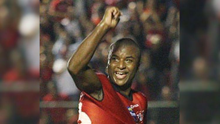 Bek Persipura Jayapura asal Brasil, Andre Ribeiro dos Santos, mengungkapkan jika timnya tak mudah menghadapi PSS Sleman di Stadion Maguwoharjo, Kamis (19/9/19). Copyright: © Netvasco