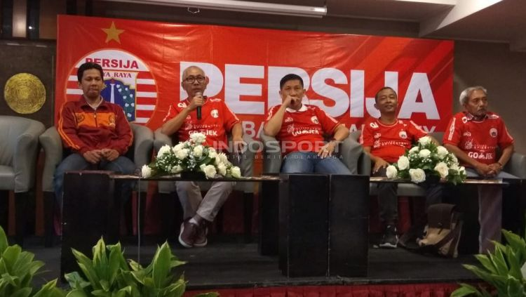 Pernyataan perdana Kokoh Bafiat pasca menjadi direktur utama Persija jakarta. Copyright: © Zainal Hasan/Indosport.com