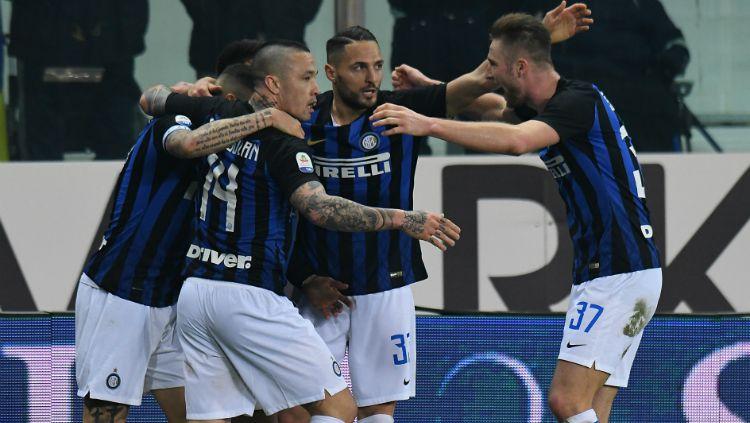 Pertandingan Parma vs Inter Milan, Minggu (10/02/19) dini hari WIB. Copyright: © GettyImages