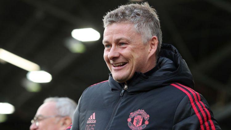Pelatih Manchester United, Ole Gunnar Solskjaer. Copyright: © GettyImages