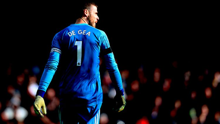 David De Gea, kiper Manchester United. Copyright: © INDOSPORT