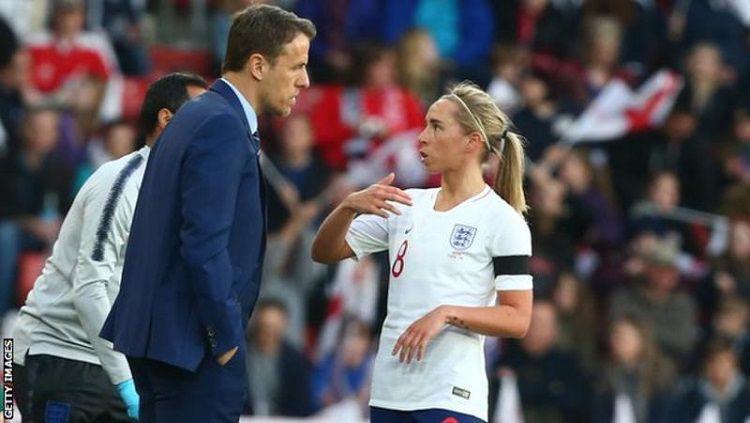 Gelandang Timnas Wanita Inggris, Jordan Nobbs. Copyright: © Getty Images, Via BBC Sport