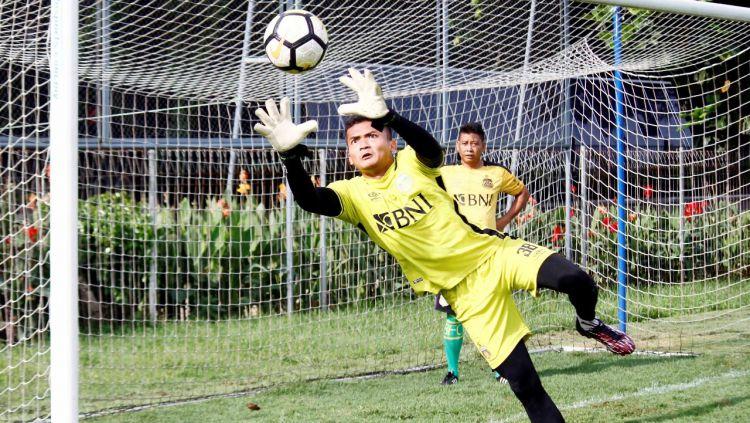 Tim Bhayangkara FC saat latihan. Copyright: © Media Bhayangkara