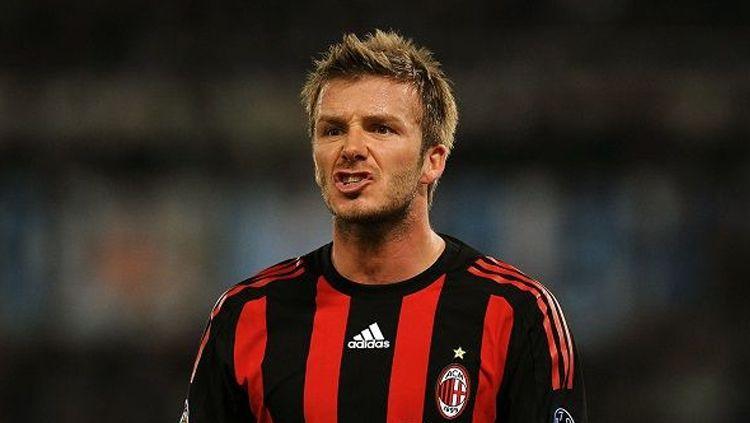 David Beckham - AC Milan. Copyright: © Getty Images