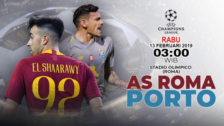 Pertandingan AS Roma vs Fc Porto. Copyright: © Yooan Rizky Syahputra