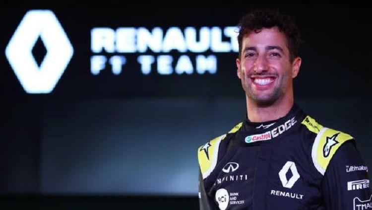 Daniel Ricciardo kini berada di agensi yang sama dengan Cristiano Ronaldo. Copyright: © Getty Images