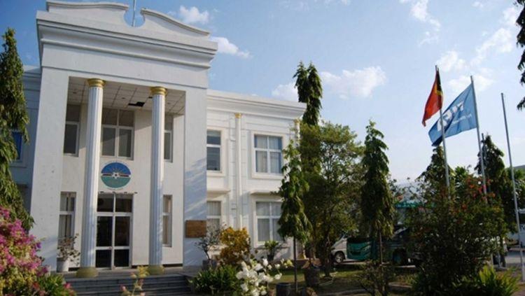 Kantor federasi sepak bola Timor Leste Copyright: © Istimewa