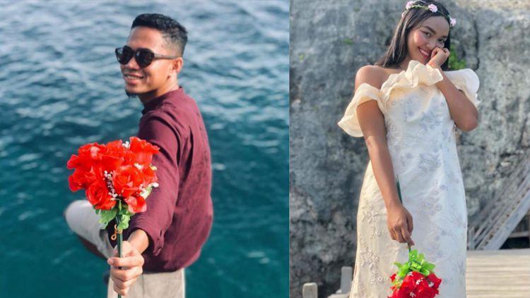 Pasangan atlet, Reva Adi Utama dan Alya Nadira (polo air). Copyright: © Celebes
