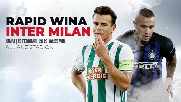 Prediksi Rapid Wien vs Inter Milan Copyright: © INDOSPORT