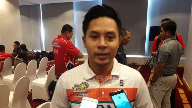 Sukandar, Manajer tim Jakarta BNI 46 Copyright: © Ian Setiawan/INDOSPORT