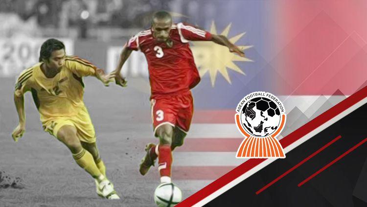 Malaysia vs Indonesia di Piala Tiger 2004 Copyright: © INDOSPORT