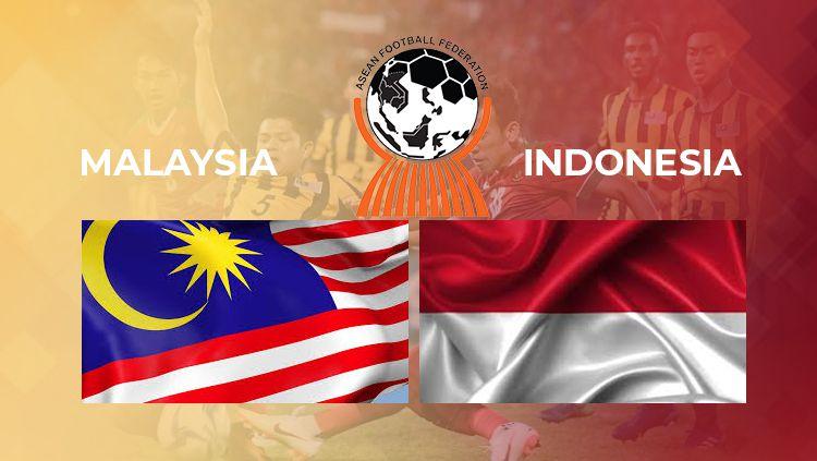 Malaysia vs Indonesia. Copyright: © INDOSPORT