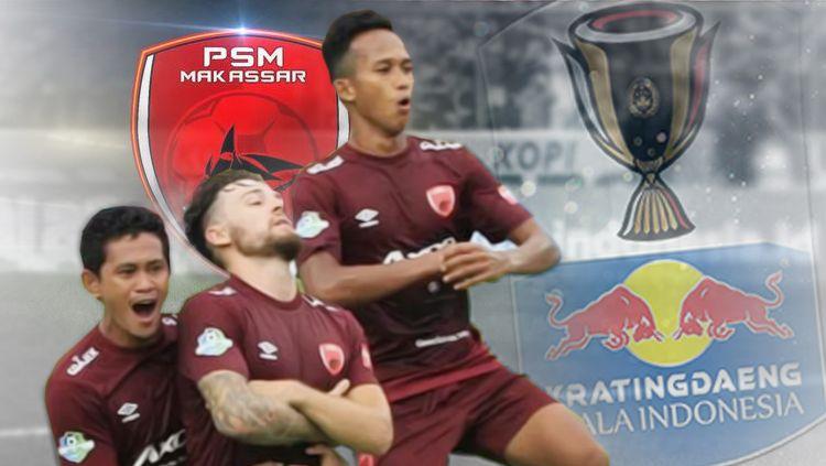 Link Live Streaming Pertandingan Kratingdaeng Piala Indonesia: PSM Makassar vs Perseru Serui Copyright: © Eli Suhaeli/INDOSPORT