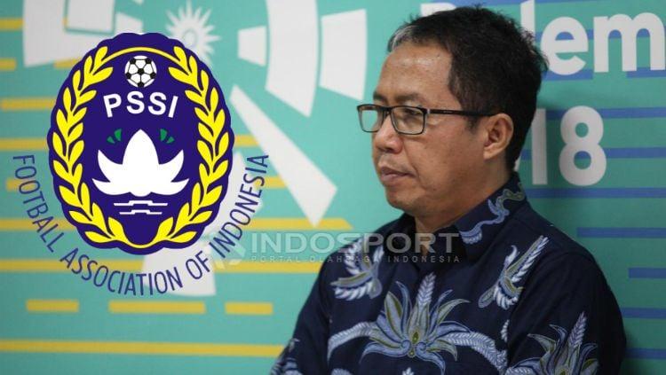 PLT Ketua Umum PSSI, Joko Driyono. Copyright: © Herry Ibrahim/INDOSPORT