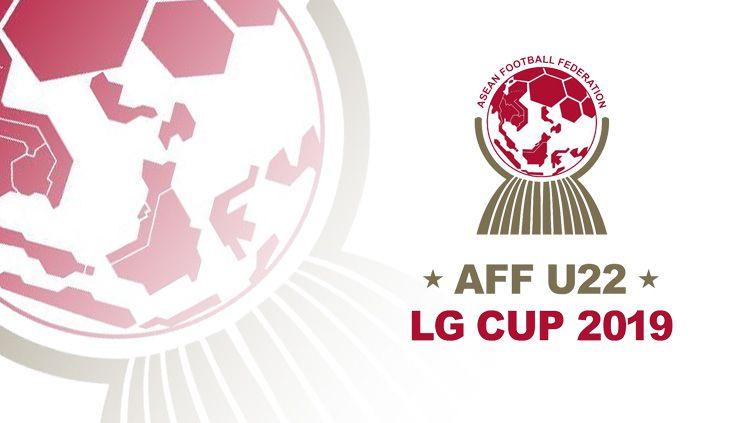Logo AFF U-22 LG Cup 2019. Copyright: © Indosport.com