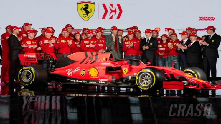 Ferrari rilis mobil baru yang diberi nama SF90 untuk Formula 1 2019 Copyright: © Crash.net