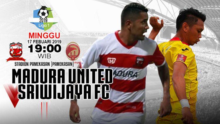 Pertandingan Madura United vs Sriwijaya fc Copyright: © INDOSPORT/Yooan Rizky Syahputra