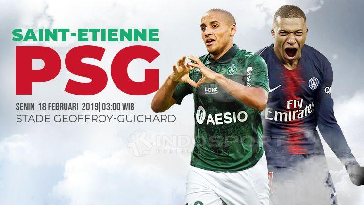 Prediksi Saint-Etienne vs PSG Copyright: © INDOSPORT