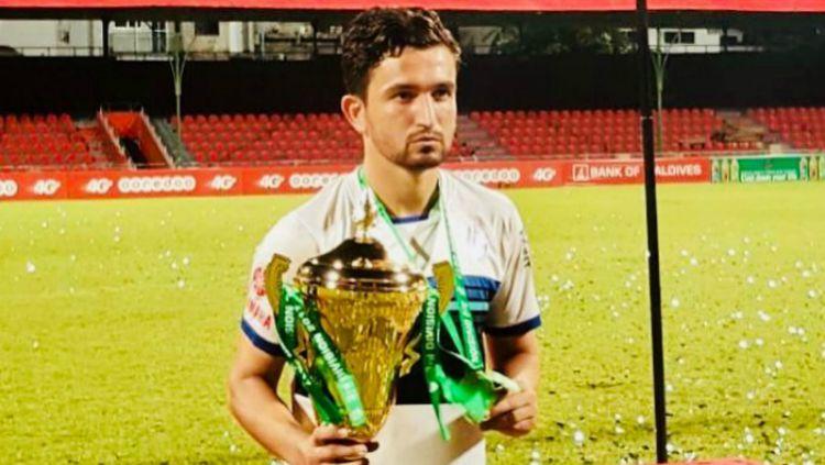 Striker Timnas Pakistan, Saadullah Khan dirumorkan ke Persib Bandung untuk Liga 1 2019. Copyright: © instagram.com/saadullah_10
