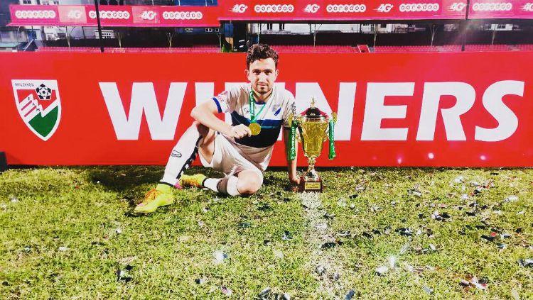 Striker Timnas Pakistan, Saadullah Khan yang dirumorkan ke Persib Bandung jelang Liga 1 2019 Copyright: © instagram.com/saadullah_10