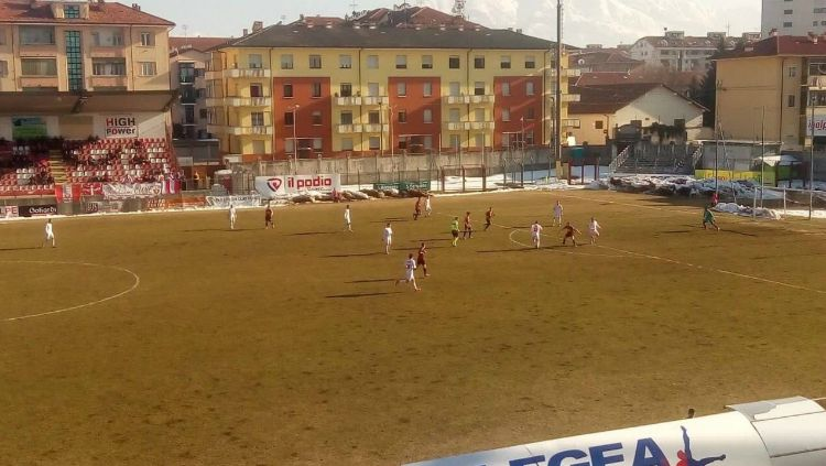 Cuneo vs Pro Piacenza. Copyright: © Twitter