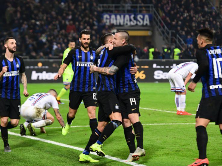 Hasil Pertandingan Serie A Italia Inter Milan vs Sampdoria: Aksi Dua Pemain Berdarah Indonesia