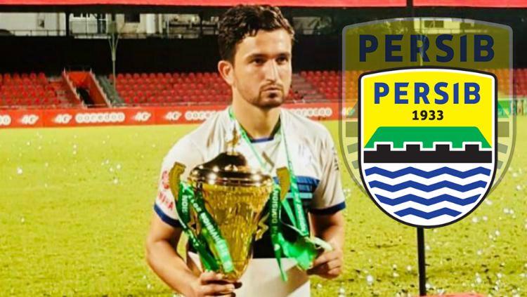 Striker Timnas Pakistan, Saadullah Khan yang dirumorkan ke Persib Bandung jelang Liga 1 2019 Copyright: © instagram.com/saadullah_10/INDOSPORT