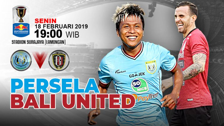 Pertandingan Persela Lamongan vs Bali United. Copyright: © Indosport.com