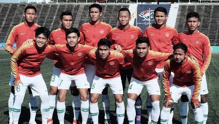 Skuat Timnas Indonesia U-22 Copyright: © PSSI