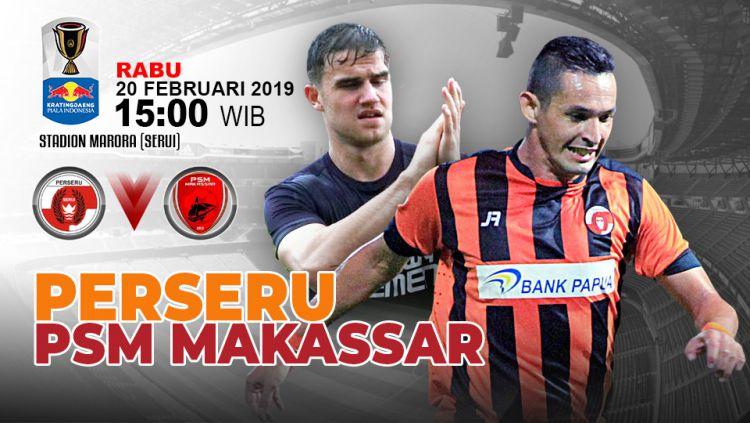 Pertandingan Perseru Serui vs PSM Makassar. Copyright: © Indosport.com