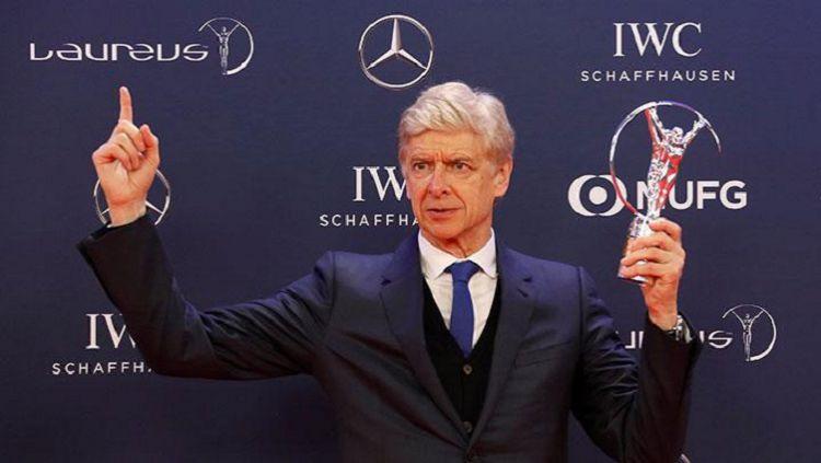 Nama Arsene Wenger menjadi kandidat terkuat sebagai pelatih Bayern Munchen selanjutnya usai The Bavarian memecat juru taktik asal Kroasia, Niko Kovac. Copyright: © Bleacher Report