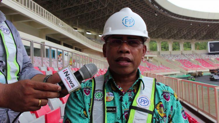 Kepala Dinas Olahraga dan Pemuda Provinsi Papua, Daud Ngabalin. Copyright: © Istimewa