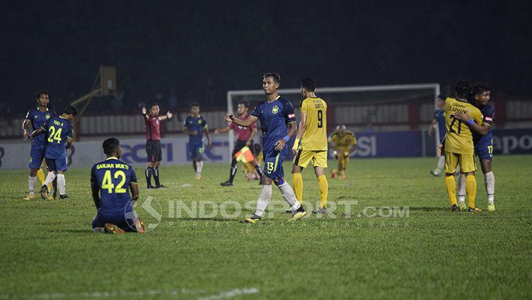 Laga leg pertama babak 16 besar Piala Indonesia, Bhayangkara FC vs PSIS Semarang Copyright: © Herry Ibrahim/INDOSPORT