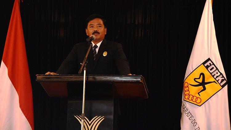 Marsekal TNI Hadi Tjahjanto, Ketum Baru FORKI. Copyright: © PLH. Kabidpenum Puspen TNI, Letkol Inf Drs. Abidin Tobba, M.Si