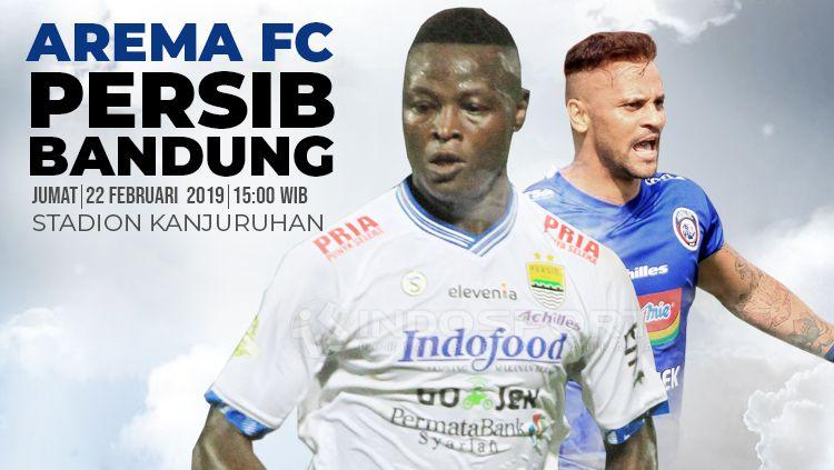 Prediksi Arema fc vs Persib Bandung Copyright: © INDOSPORT