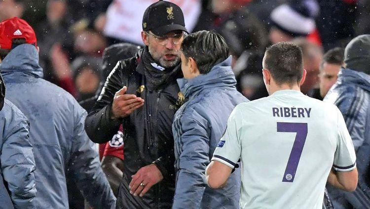 Jurgen Klopp peringatkan timnya untuk waspada jelang laga leg ke-2 perempatfinal Liga Champions antara Liverpool vs Porto. Copyright: © Imago